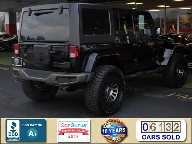 2016 Jeep Wrangler Unlimited 75th Anniversary 4X4 - LIFTED - NAVIGATION! Mooresville , NC 2