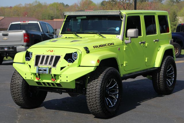 2016 Jeep Wrangler Unlimited Rubicon Hard Rock 4X4 - LIFTED - LOT$ OF EXTRA$!! Mooresville , NC 21