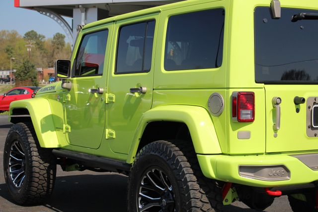 2016 Jeep Wrangler Unlimited Rubicon Hard Rock 4X4 - LIFTED - LOT$ OF EXTRA$!! Mooresville , NC 27