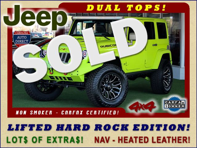 2016 Jeep Wrangler Unlimited Rubicon Hard Rock 4X4 - LIFTED - LOT$ OF EXTRA$!! Mooresville , NC 0
