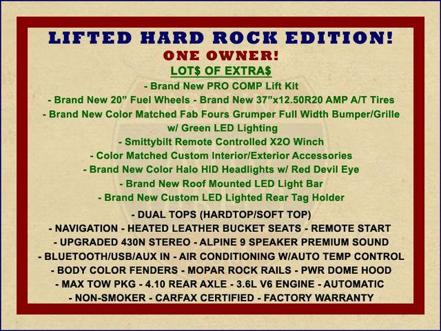2016 Jeep Wrangler Unlimited Rubicon Hard Rock Mooresville , NC 1