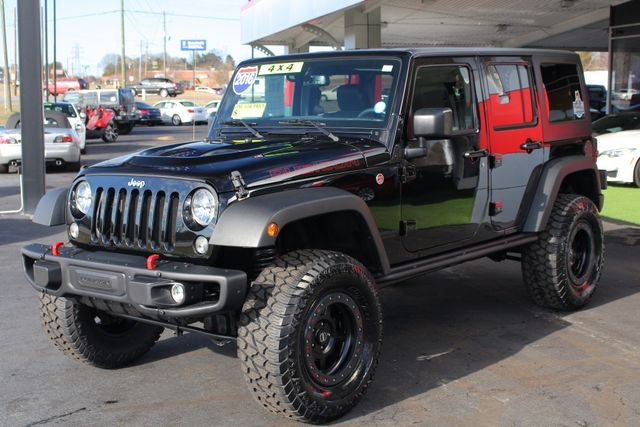 2016 Jeep Wrangler Unlimited Rubicon Hard Rock 4X4 - LIFTED - NAVIGATION! Mooresville , NC 23