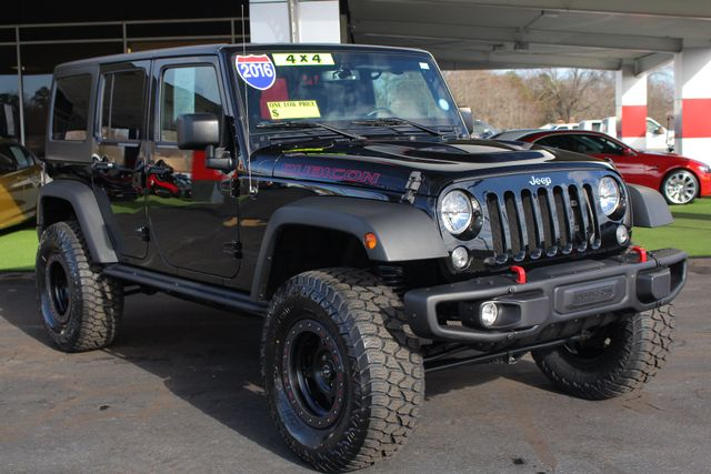 2016 Jeep Wrangler Unlimited Rubicon Hard Rock 4X4 - LIFTED - NAVIGATION! Mooresville , NC 22