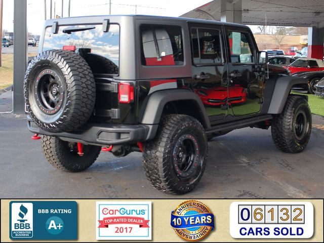 2016 Jeep Wrangler Unlimited Rubicon Hard Rock 4X4 - LIFTED - NAVIGATION! Mooresville , NC 2