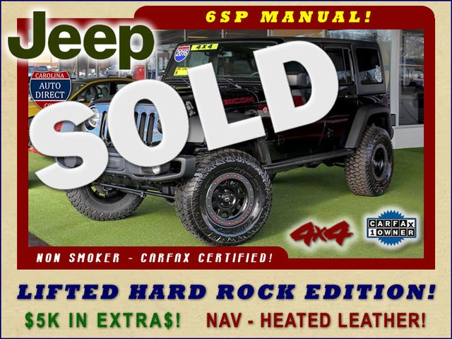 2016 Jeep Wrangler Unlimited Rubicon Hard Rock 4X4 - LIFTED - NAVIGATION! Mooresville , NC 0