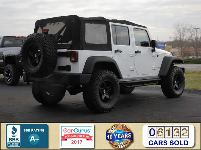 2016 Jeep Wrangler Unlimited Sport 4X4 - LIFTED - $5K IN EXTRA$! Mooresville , NC 2