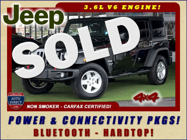 2016 Jeep Wrangler Unlimited Sport 4x4 - HARDTOP - BLUETOOTH! Mooresville , NC 0