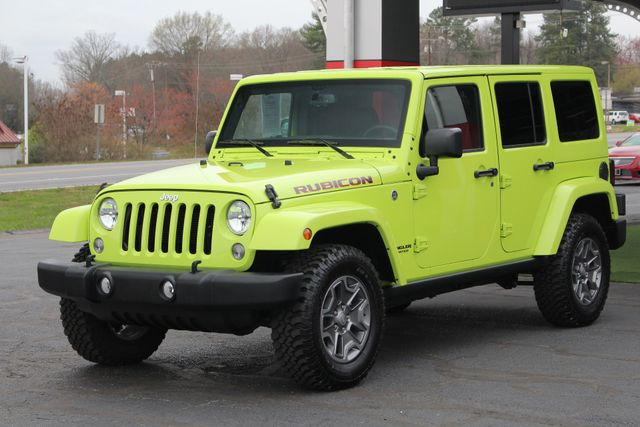 2016 Jeep Wrangler Unlimited Rubicon 4X4 - NAVIGATION - HEATED LEATHER! Mooresville , NC 22