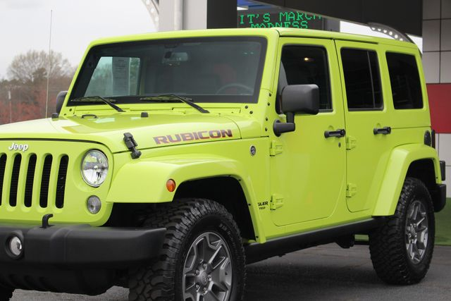 2016 Jeep Wrangler Unlimited Rubicon 4X4 - NAVIGATION - HEATED LEATHER! Mooresville , NC 24