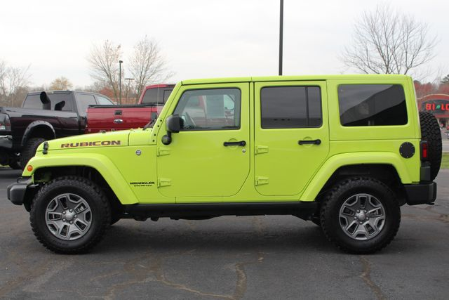 2016 Jeep Wrangler Unlimited Rubicon 4X4 - NAVIGATION - HEATED LEATHER! Mooresville , NC 15