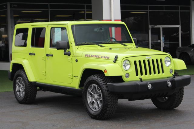 2016 Jeep Wrangler Unlimited Rubicon 4X4 - NAVIGATION - HEATED LEATHER! Mooresville , NC 21