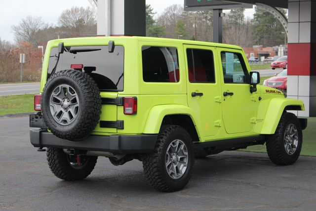2016 Jeep Wrangler Unlimited Rubicon 4X4 - NAVIGATION - HEATED LEATHER! Mooresville , NC 25