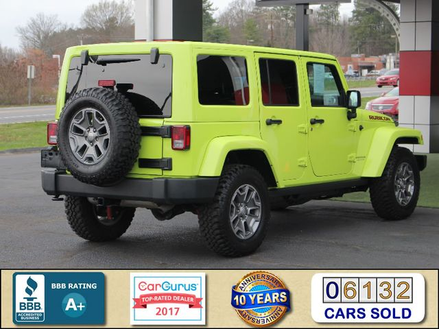 2016 Jeep Wrangler Unlimited Rubicon 4X4 - NAVIGATION - HEATED LEATHER! Mooresville , NC 2