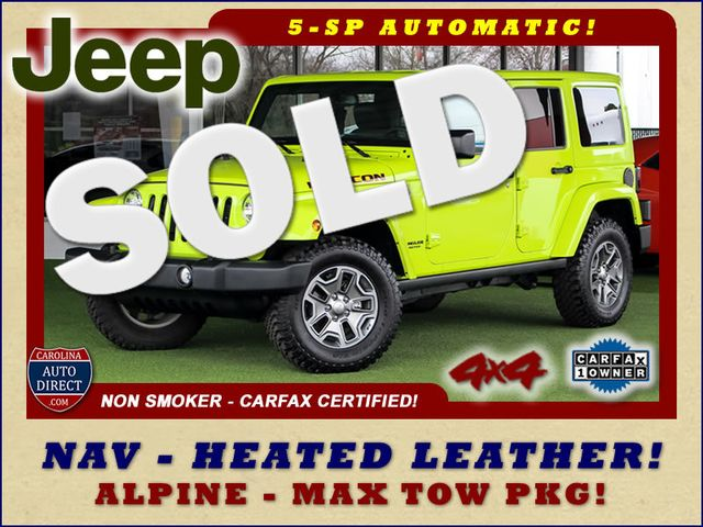 2016 Jeep Wrangler Unlimited Rubicon 4X4 - NAVIGATION - HEATED LEATHER! Mooresville , NC 0