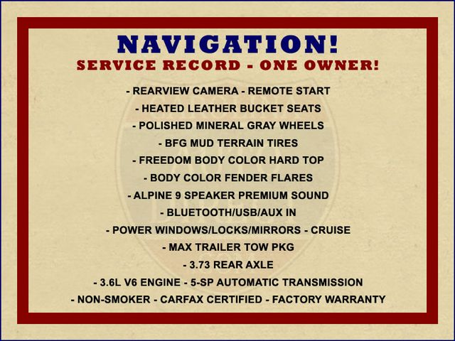 2016 Jeep Wrangler Unlimited Rubicon 4X4 - NAVIGATION - HEATED LEATHER! Mooresville , NC 1
