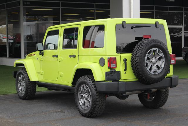 2016 Jeep Wrangler Unlimited Rubicon 4X4 - NAVIGATION - HEATED LEATHER! Mooresville , NC 26