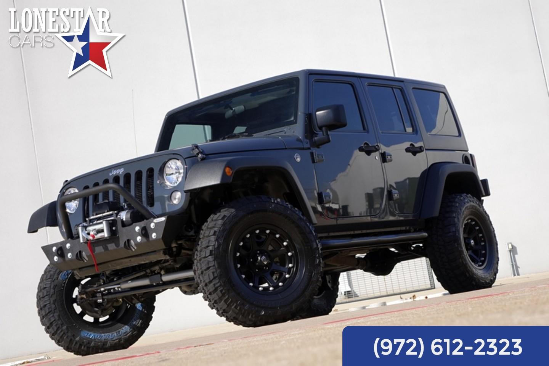 2016 jeep wrangler unlimited sport suspension lift 4x4. Black Bedroom Furniture Sets. Home Design Ideas