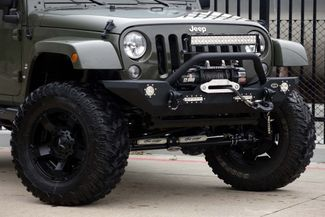 2016 Jeep Wrangler Unlimited Sahara * LIFTED * 35's * Leather * BUMPERS *EXTRAS Plano, Texas 24