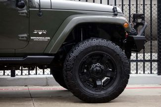2016 Jeep Wrangler Unlimited Sahara * LIFTED * 35's * Leather * BUMPERS *EXTRAS Plano, Texas 33