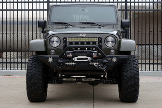 2016 Jeep Wrangler Unlimited Sahara * LIFTED * 35's * Leather * BUMPERS *EXTRAS Plano, Texas 6