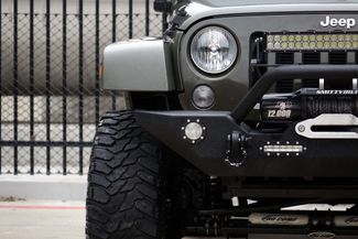 2016 Jeep Wrangler Unlimited Sahara * LIFTED * 35's * Leather * BUMPERS *EXTRAS Plano, Texas 36