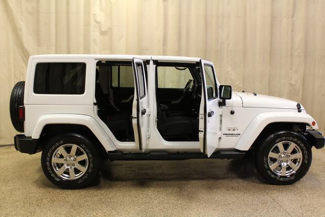 2016 Jeep Wrangler Unlimited Sahara Roscoe, Illinois 24