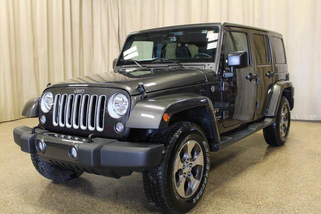 2016 Jeep Wrangler Unlimited Sahara Roscoe, Illinois 2