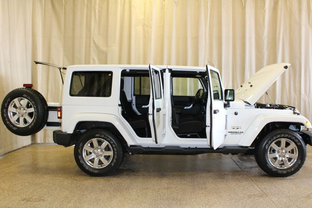 2016 Jeep Wrangler Unlimited Sahara Roscoe, Illinois 2