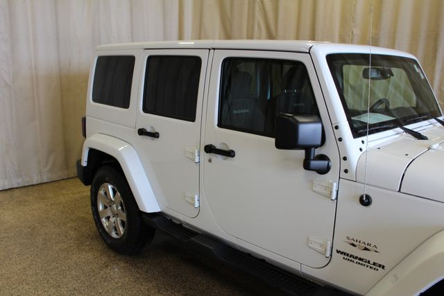 2016 Jeep Wrangler Unlimited Sahara Roscoe, Illinois 6