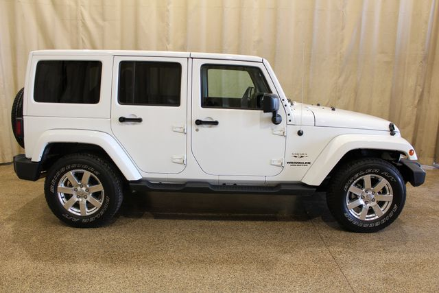 2016 Jeep Wrangler Unlimited Sahara Roscoe, Illinois 1