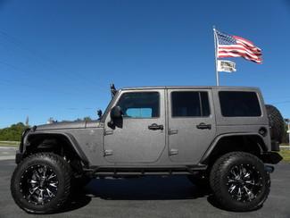 2016 Jeep Wrangler Unlimited RHINO RUBICON*FUEL*DV8*SMITTY*FOX*FAB FOUR in ,, Florida