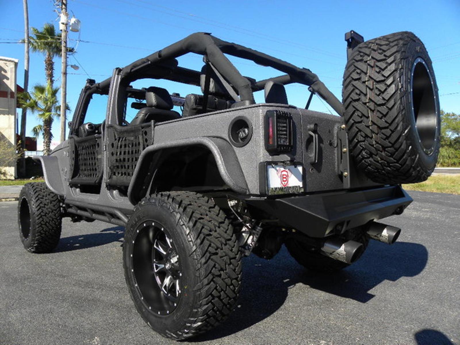 2016 Jeep Wrangler Unlimited Rhino Rubiconfueldv8smittyfoxfab Four Florida Bayshore Automotive