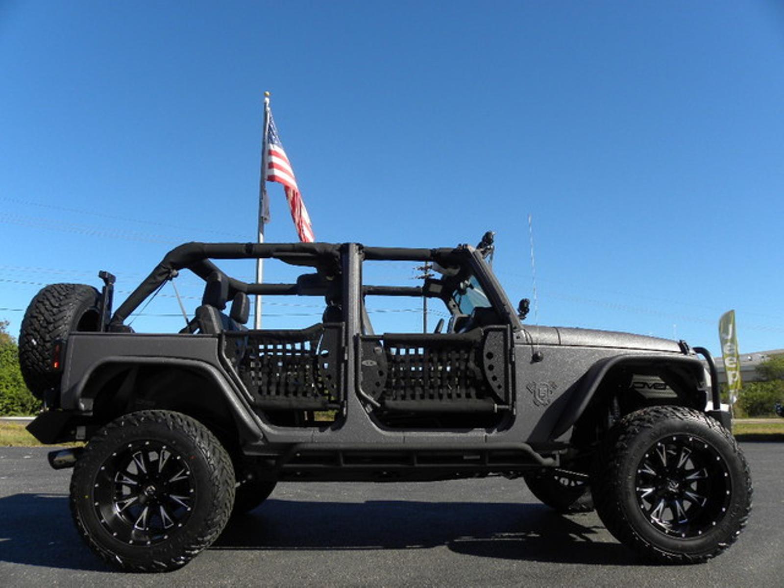 2016 jeep wrangler unlimited rhino rubiconfueldv8smittyfoxfab four florida bayshore automotive. Black Bedroom Furniture Sets. Home Design Ideas
