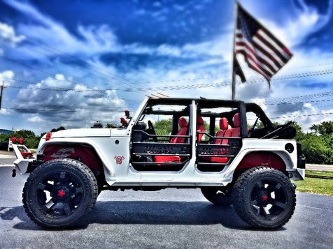 2016 Jeep Wrangler Unlimited CUSTOM LIFTED FOX SHOCKS LEATHER XD DV8 SMITTY  in , Florida