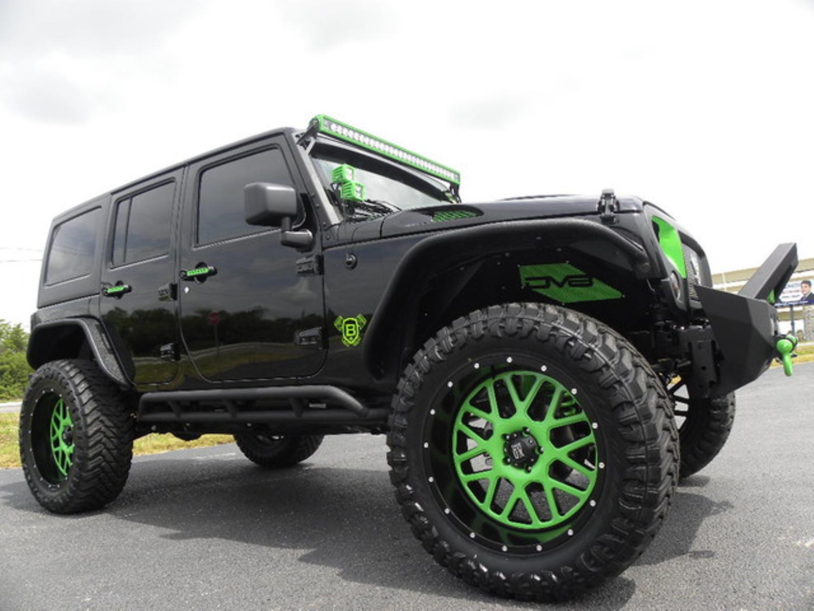 2016 jeep wrangler unlimited biohazard custom lifted leather xd dv8 florida bayshore automotive. Black Bedroom Furniture Sets. Home Design Ideas