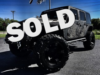 2016 Jeep Wrangler Unlimited SARGE CUSTOM LIFTED CAMO LEATHER POISON SPIDER in ,, Florida