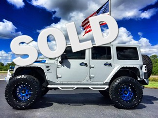 2016 Jeep Wrangler Unlimited OVERKILL CUSTOM LIFTED LEATHER LINE X in , Florida