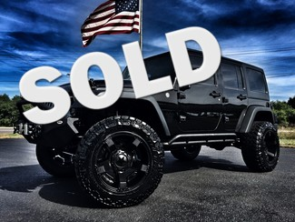 2016 Jeep Wrangler Unlimited CUSTOM LIFTED BLACK OUT LEATHER in ,, Florida