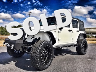 2016 Jeep Wrangler Unlimited CUSTOM LIFTED WHITEOUT LEATHER  in ,, Florida