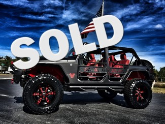 2016 Jeep Wrangler Unlimited CUSTOM LIFTED LEATHER HARSTOP in ,, Florida