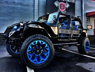2016 Jeep Wrangler Unlimited CUSTOM LIFTED LEATHER 24S HARDTOP in ,, Florida