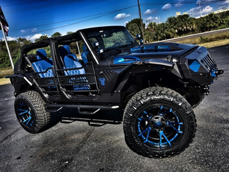 2016 Jeep Wrangler Unlimited CUSTOM GRUMPER LEATHER HARDTOP 24S   Florida  Bayshore Automotive   in , Florida