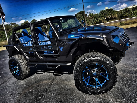 2016 Jeep Wrangler Unlimited CUSTOM GRUMPER LEATHER HARDTOP 24S in , Florida
