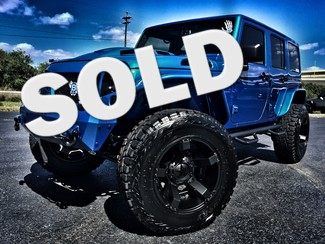 2016 Jeep Wrangler Unlimited RUBICON CUSTOM LIFTED LEATHER NAV  in , Florida