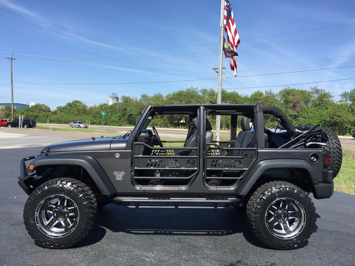 2016 Jeep Wrangler Unlimited Custom Lifted Leather Florida