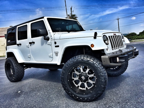 2016 Jeep Wrangler Unlimited 75TH ANNV CUSTOM LIFTED XD 35