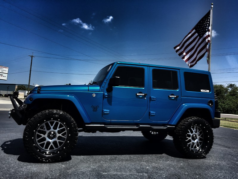 2016 Jeep Wrangler Unlimited SAHARA CUSTOM LIFTED LEATHER  in , Florida