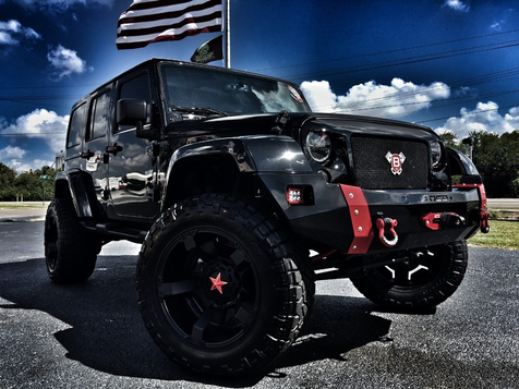2016 Jeep Wrangler Unlimited CUSTOM SAHARA HARDTOP LEATHER LIFTED in , Florida