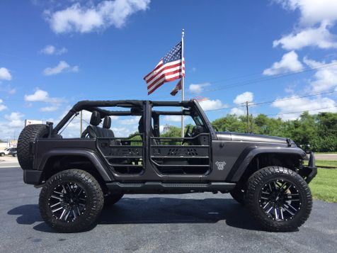 2016 Jeep Wrangler Unlimited SAHARA CUSTOM LIFTED LEATHER NAV in , Florida