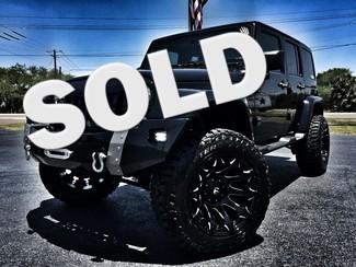2016 Jeep Wrangler Unlimited SAHARA CUSTOM LIFTED LEATHER NAV HARDTOP 4X4 in , Florida